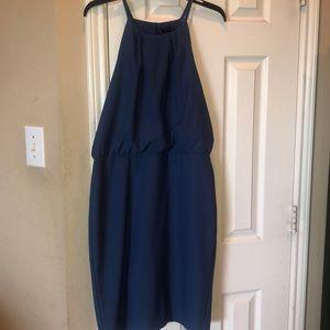 Blue Banana Republic A-line dress